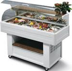 Kühlmöbel Buffet für Fisch